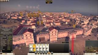 Rome 2 total War 9.0 seige battle