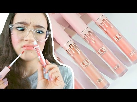Why KKW Crème Liquid Lipstick…TRASH! Unboxing & Review! FionaFrills Vlogs