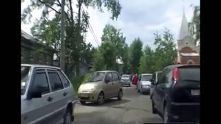 Осторожно ! Женщины за рулем.С комментариями водителей .