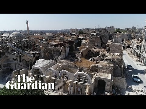 Download Syria: drone footage shows devastation in Aleppo, Deir ez-Zor and rural Damacus Mp4 HD Video and MP3