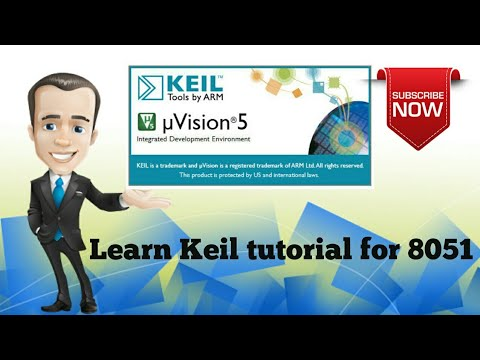 Video dan mp3 Introduction To Keil Tool For 8051 Programming