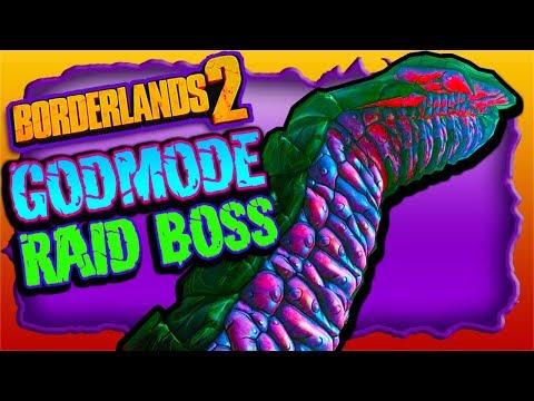 "GODMODE Spot in RAID BOSS ""Haderax"" Fight (NOT A GLITCH) Borderlands 2 NEW DLC"