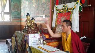 Blessing ceremony for the Shakyamuni Buddha Statue and Phurwa Set