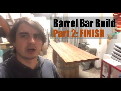 Barrel Bar Build - Growing Event Rental Business