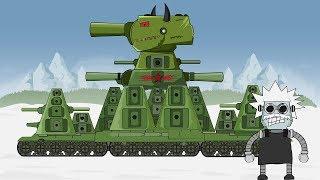 """Cartoon about tanks """"Birth of SOVIET MONSTER KV 44"""""""