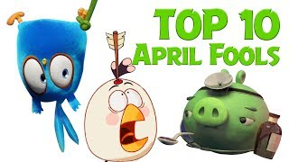 Angry Birds   Top 10 Fools Day Mashup Compilation