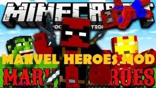 Marvel Mod - Spiderman , Deadpool ve Hulk   Minecraft PE MODS