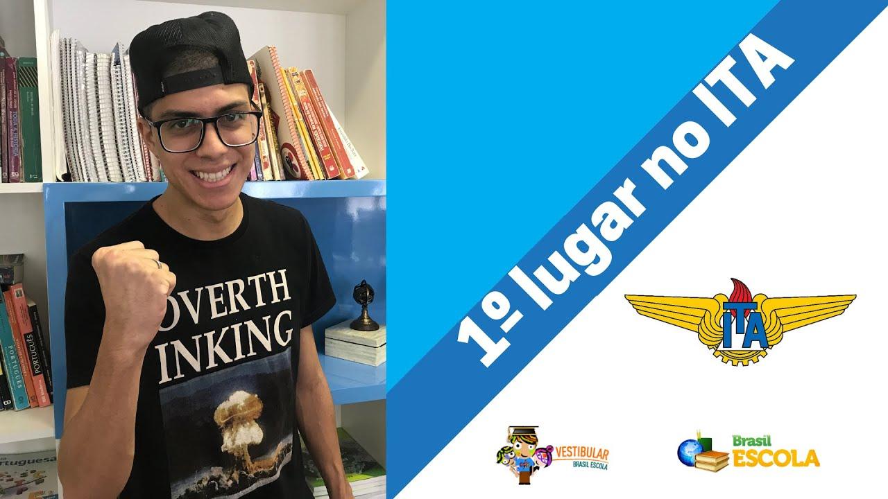 Entrevista com Luciano Filho, primeiro Lugar no ITA