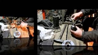 замена подшипника передней ступицы чери амулет