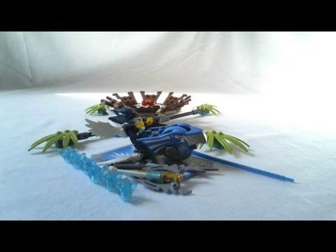 Vidéo LEGO Chima 70105 : Le piège du nid