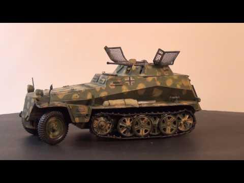 Maquette Neuve TAMIYA 1/35 CHAR German Sdkfz 250/9 ouvert pour photos