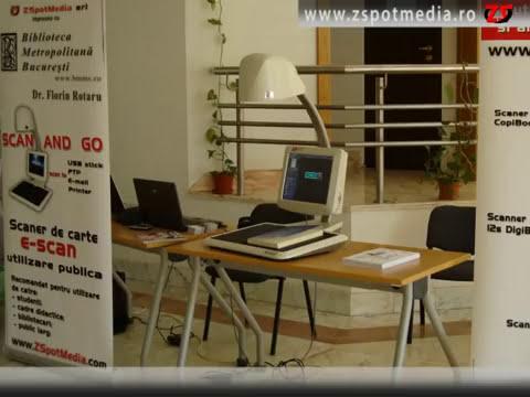 E-scan prezentare la Universitatea Transilvania Brasov