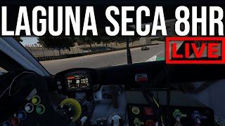 My First Proper Assetto Corsa Competizione Endurance Race | Laguna Seca 8HR FT. Jardier