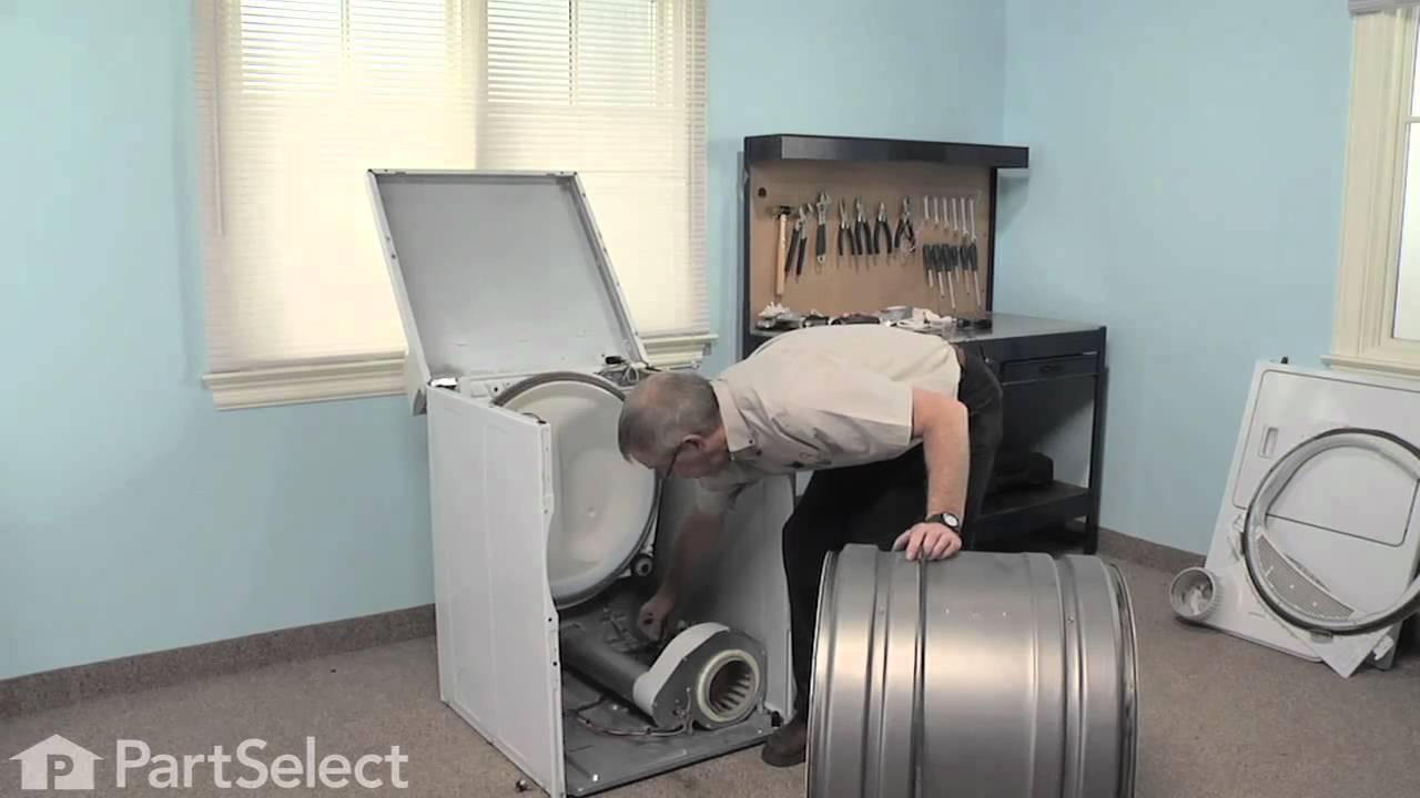 Replacing your Amana Dryer Retaining Ring