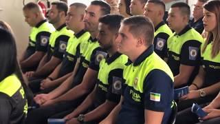 La Policía Municipal de San José graduó 14 nuevos Policías que se