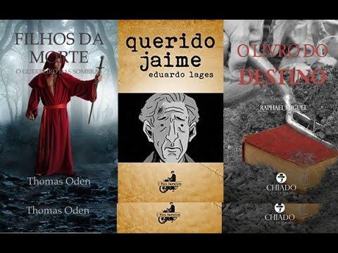 Bate-Papo com Raphael Miguel, Eduardo Lages e Thomas Oden (escritores) parte 1