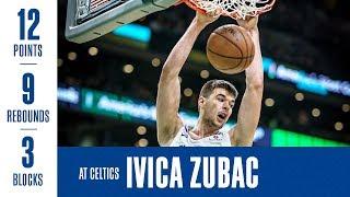 Ivica Zubac Highlights At Celtics | 2/9