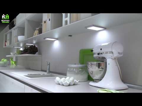 Iluminación propia en el mueble de cocina Kuchenhouse