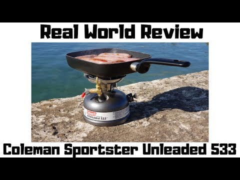 Coleman Sportster Unleaded 533 Stove - Best Review
