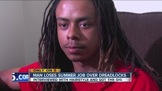 Man loses Cedar Point job over dreadlocks