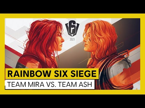 Tom Clancy's Rainbow Six Siege – Road to S.I. 2021 – Team Mira vs Team Ash
