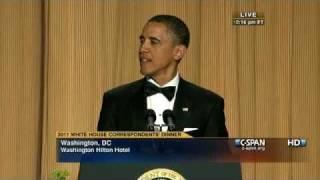 C-SPAN: President Obama at the 2011 White House Correspondents' Dinner