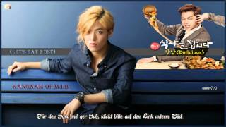 KangNam of M.I.B - Delicious k-pop [german Sub] Let's Eat 2 OST