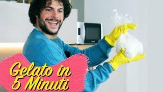 Fare il gelato in 5 minuti | CUCINA BUTTATA - Guglielmo Scilla