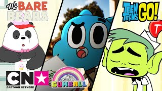 Mladí Titáni do toho!! + Gumball + Mezi námi medvědy | Hledání práce | Cartoon Network