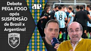 'É vergonhoso: os argentinos mentiram e não deveriam ter entrado no Brasil'