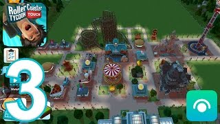RollerCoaster Tycoon Touch - Gameplay Walkthrough Part 2 - Level 6-7