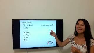 Марлинс тест.  Задания на грамматику
