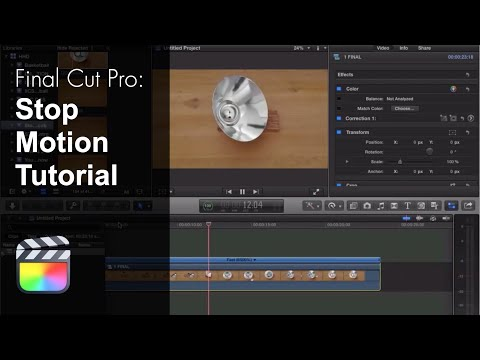 Final Cut Pro X Stop Motion Tutorial