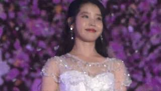20181208 IU Trying Not To Cry  ㅠㅠ [4KLive]