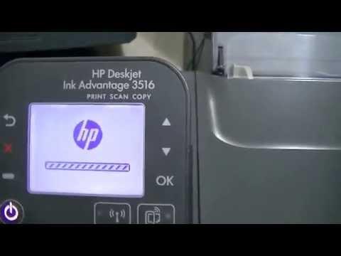 Como Escanear Documentos Da Impressora Hp Deskjet 3516