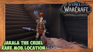 World of Warcraft Jakala The Cruel Rare Mob Location