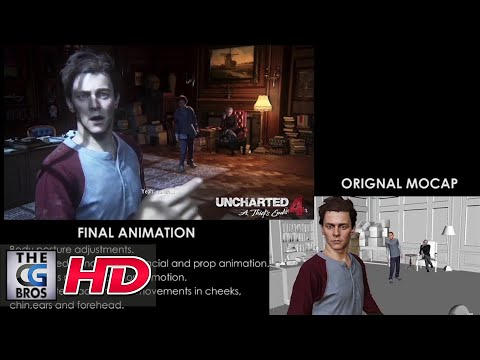"CGI & VFX Showreels: ""UNCHARTED 4 Cinematic Animation Reel"" – by Sani Spectra"