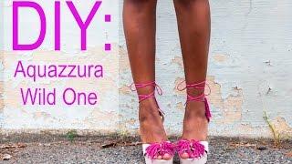 DIY: Aquazzura Wild One Heels