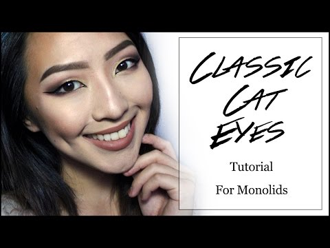 Classic Cat Eyes For Monolids