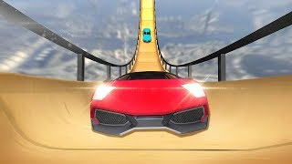 Vertical Ramp Car Extreme Stunts Racing Simulator - Android Gameplay [HD]