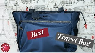 Tumi Voyageur Travel Bag | First Impressions | Review |Red Ruby Creates
