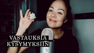 Nukutan sinut kuiskauksilla ja fidget-cubella ☁️ ASMR Suomi (Q&A OSA 1)