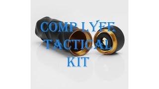 Электронная сигарета мехмод Comp Lyfe Tactical RDA Kit Black High copy от компании Большая ярмарка - видео