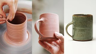 How to Make a Pottery Mug, from Beginning to End.