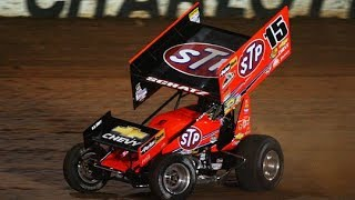 preview picture of video 'World of Outlaws Qualification Cornwall Speedway'