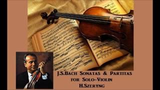J.S.Bach Sonatas & Partitas for Solo Violin [ H.Szeryng ] (1967)