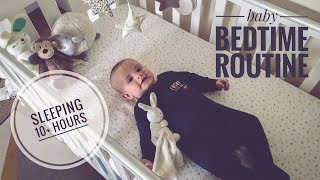 4 month old baby BEDTIME ROUTINE | Sleep training