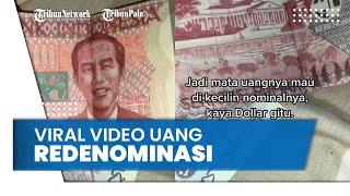Viral Video Uang Redenominasi Bergambar Presiden Jokowi, BI Beri Penjelasan