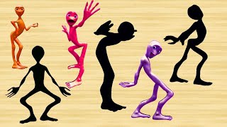Learn Color For Children - Learn Colors Dame Tu Cosita Dance  - Alien Dance Wrong Wooden Slots
