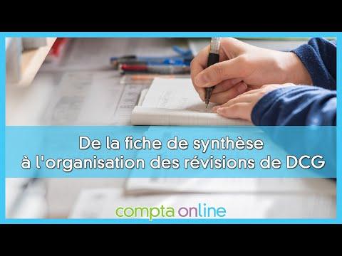 Organiser ses révisions de DCG